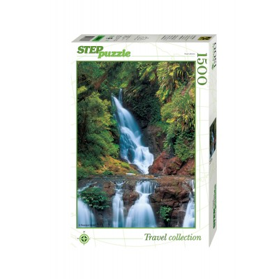 Puzzle Step-Puzzle-83004 Waterfall