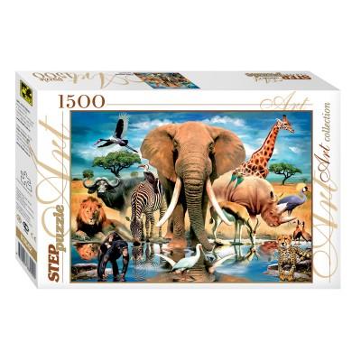 Puzzle Step-Puzzle-83042 Wildes Leben