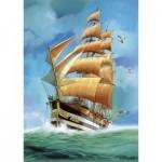 Puzzle  Step-Puzzle-83047 Segelschiff