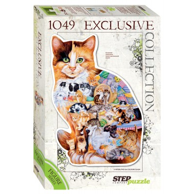 Puzzle  Step-Puzzle-83502 Katze