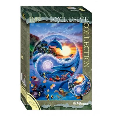 Puzzle  Step-Puzzle-83509 Unterwasserwelt