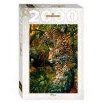Puzzle  Step-Puzzle-84027 Leopard
