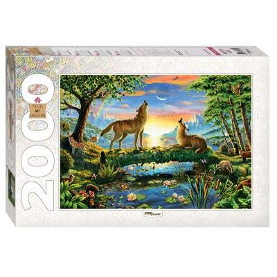 Puzzle  Step-Puzzle-84029 Wölfe