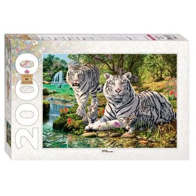 Puzzle  Step-Puzzle-84034 Wie viele Tiger?