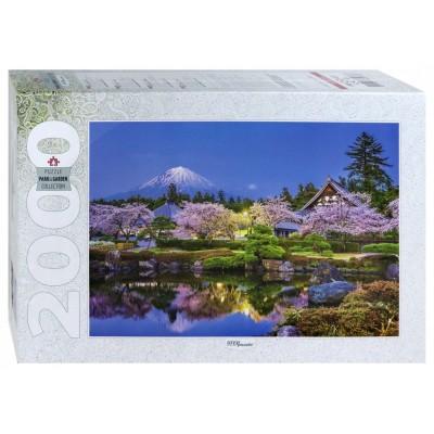 Puzzle  Step-Puzzle-84038 Japan im Frühling