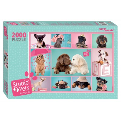 Puzzle Step-Puzzle-84300 Studio Pets