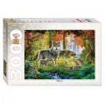 Puzzle  Step-Puzzle-85013 Wölfe