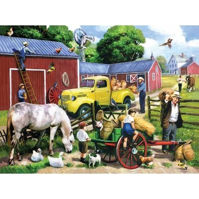 Puzzle  Sunsout-13703 Summer Farm Days