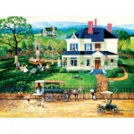 Puzzle  Sunsout-14083 XXL Teile - The Ice Wagon