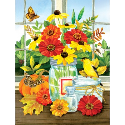 Puzzle  Sunsout-16099 XXL Teile - Jane Maday - Autumn Jars