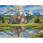 Puzzle  Sunsout-16795 XXL Teile - Almost Heaven