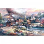 Puzzle  Sunsout-18008 XXL Teile - James Lee -  Maryland Mountain Express