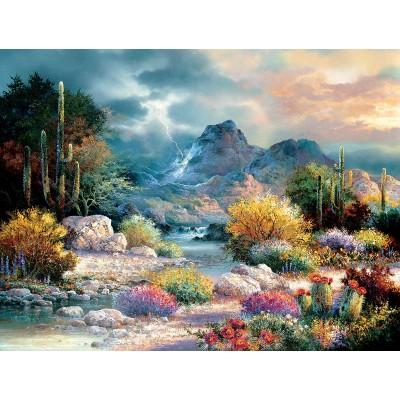 Puzzle  Sunsout-18017 XXL Teile - Springtime Valley