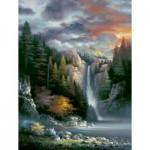 Puzzle  Sunsout-18034 XXL Teile - James Lee - Misty Falls