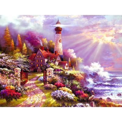 Puzzle  Sunsout-18036 XXL Teile - Coastal Splendor