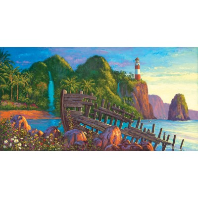 Puzzle  Sunsout-20131 Wil Cormier - Paradise Cove