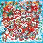 Puzzle  Sunsout-21846 XXL Teile - Cat Chorus