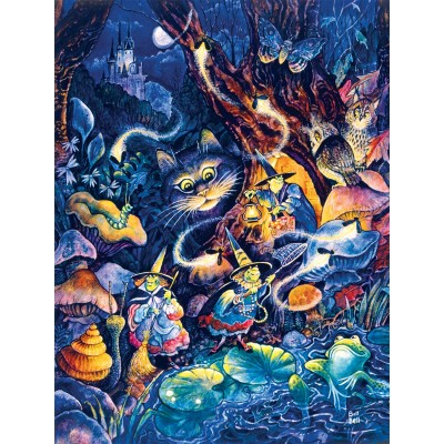 Puzzle  Sunsout-21889 XXL Teile - Three Witches