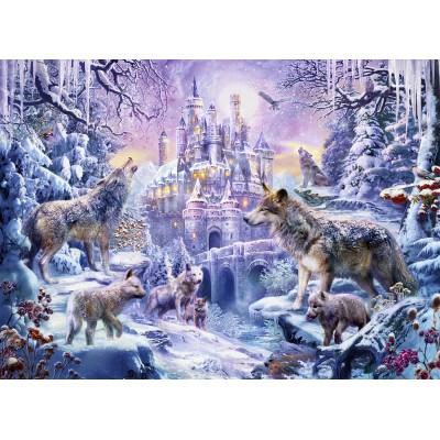 Puzzle  Sunsout-24430 Jan Partik Krasny - Castle Wolves
