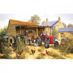 Puzzle  Sunsout-26614 XXL Teile - Helping Dad