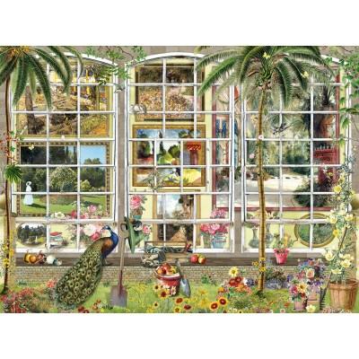 Puzzle Sunsout-27250 Barbara Behr - Gardens in Art