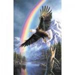 Puzzle  Sunsout-28472 James Meger - Eagle of Promise