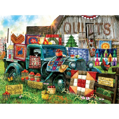 Puzzle  Sunsout-28567 Tom Wood - Quilts for Sale
