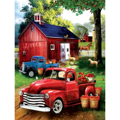 Puzzle  Sunsout-28716 XXL Teile - Apples for Sale