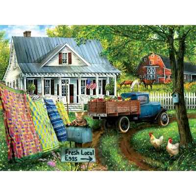 Puzzle  Sunsout-28771 Tom Wood - Countryside Living