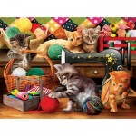 Puzzle  Sunsout-28812 XXL Teile - Fun in the Craft Room