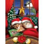 Puzzle  Sunsout-28818 XXL Teile - To All a Merry Christmas