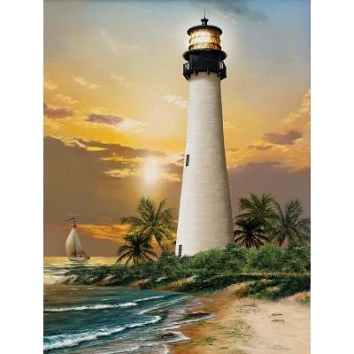 Puzzle  Sunsout-28838 XXL Teile - Cape Florida Lighthouse