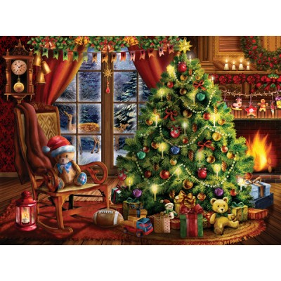 Puzzle Sunsout-28846 Tom Wood - Christmas Memories