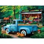 Puzzle  Sunsout-28863 Tom Wood - Woodys Farm Stand