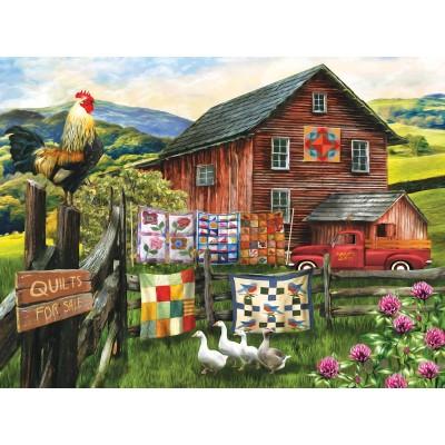 Puzzle  Sunsout-28891 Tom Wood - A Little Bit of Heaven