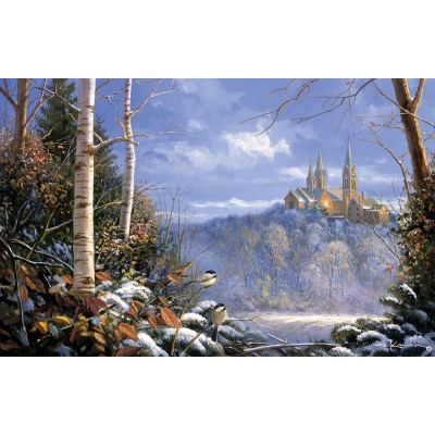 Puzzle  Sunsout-29210 Sam Timm - Holy Hill Sentinels