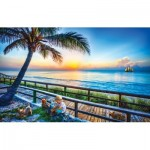 Puzzle  Sunsout-30116 Celebrate Life Gallery - End of Day Play