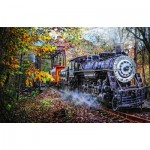 Puzzle  Sunsout-30121 Celebrate Life Gallery - Train's Coming