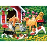 Puzzle  Sunsout-30444 XXL Teile - Who's Winning?