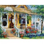 Puzzle  Sunsout-31366 XXL Teile - Barbara Mock - Blue Violet Antiques