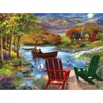 Puzzle  Sunsout-31421 XXL Teile - Lake Life