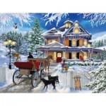 Puzzle  Sunsout-31433 XXL Teile - Winter Visit