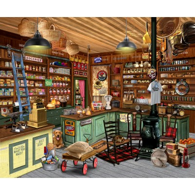 Puzzle Sunsout-31440 Bigelow Illustrations - Everything You Need