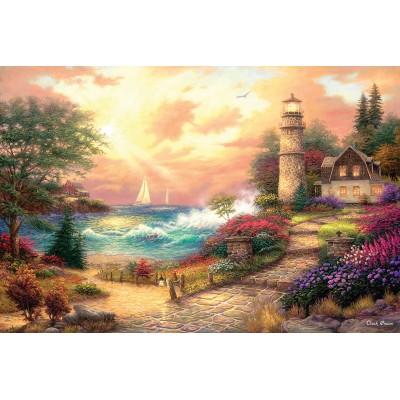 Puzzle  Sunsout-33739 Chuck Pinson - Seaside Dreams