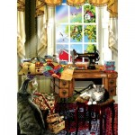 Puzzle  Sunsout-34981 XXL Teile - Lori Schory - The Sewing Room