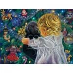 Puzzle  Sunsout-35810 XXL Teile - A Christmas Puppy