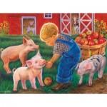Puzzle  Sunsout-35838 XXL Teile - Farm Boy