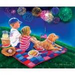 Puzzle  Sunsout-35918 XXL Teile - Fireworks Finale
