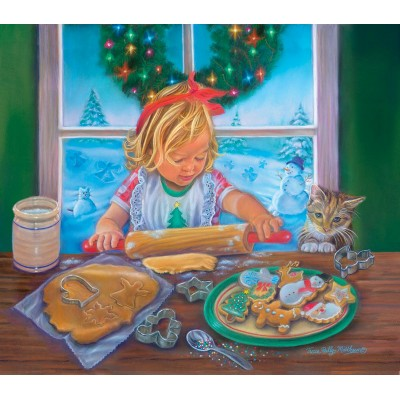 Puzzle  Sunsout-35964 XXL Teile - Christmas Cookies