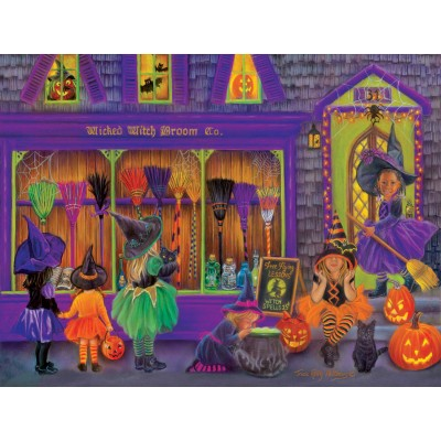 Puzzle  Sunsout-35970 XXL Teile - Tricia Reilly-Matthews - Witch Broom Shop